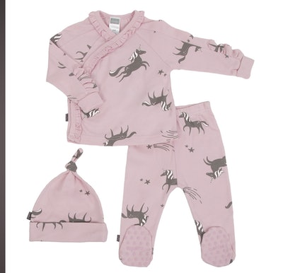 Kushies Wild & Free Pink Organic Take Me Home Set