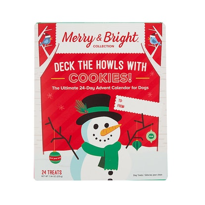 Merry & Bright™ Holiday Deck The Howls with Cookies Advent Calendar Dog Treat
