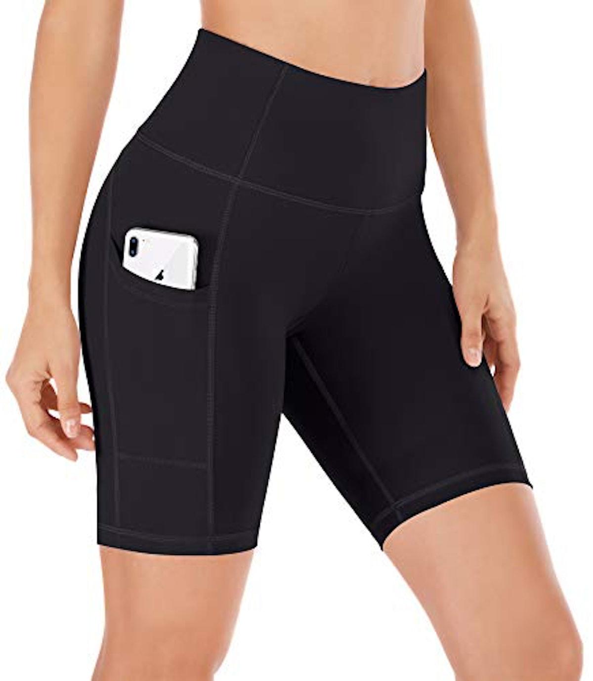 Ewedoos Compression Running Shorts with Pockets
