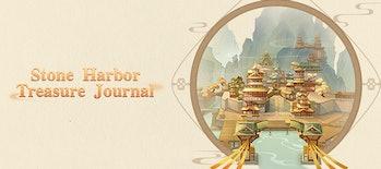 Stone Harbor Treasure Journal Web event genshin impact