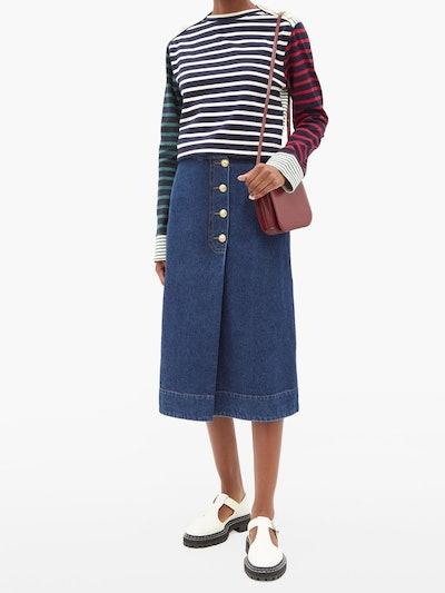 Carroll Breton-Stripe T-Shirt