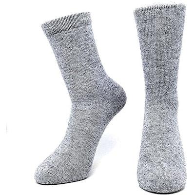 iMongol Cashmere Unisex Crew Socks