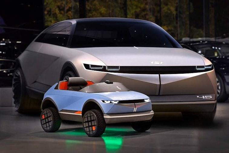 Hyundai made an electric car for kids.
