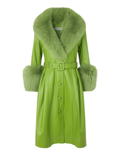 FOXY COAT - FOREST