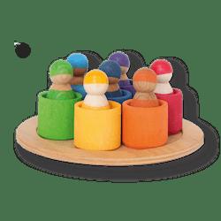 7 Rainbow Friends In Bowls