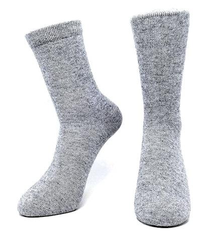 iMongol Cashmere Mid Calf Socks