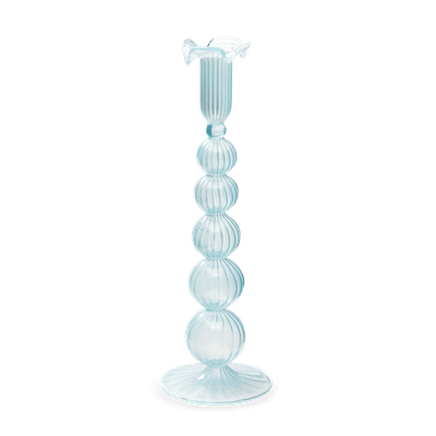 Cloud Glass Candle Holder
