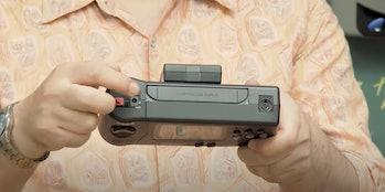 Sega's Genesis Nomad was a handheld version of the Genesis.
