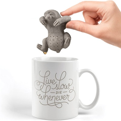 Fred and Friends Slow-Brew Sloth Tea Infuser