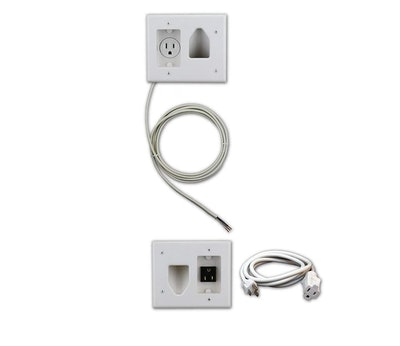 Cable Organizer Kit With Power Solution
