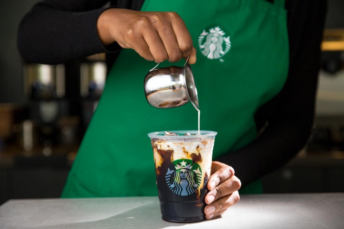 Starbucks is bringing back its Irish Cream Cold Brew.