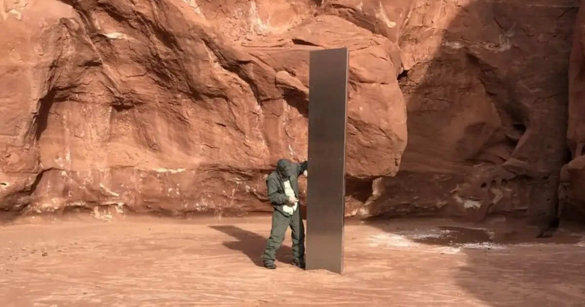 The story of the weird, mystery monolith in Utah just got weirder