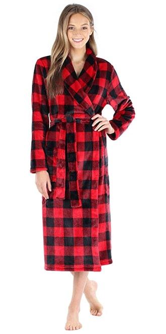 PajamaMania Fleece Bathrobe