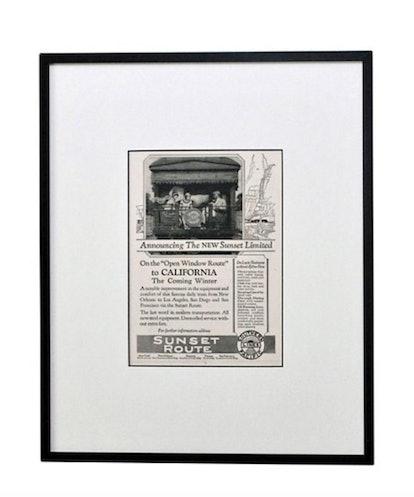 1920s California Travel Ad