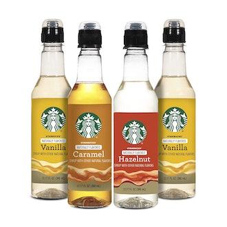 Nestle Coffee Starbucks Variety Syrup (4 Pack)