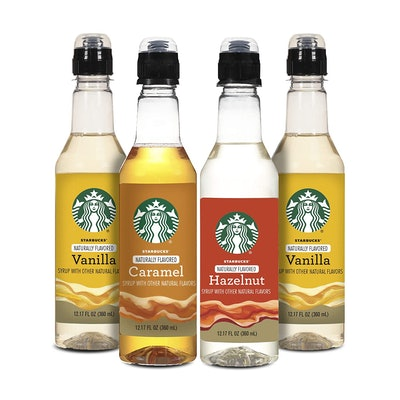 Nestle Coffee Starbucks Variety Syrup (4 Pack)