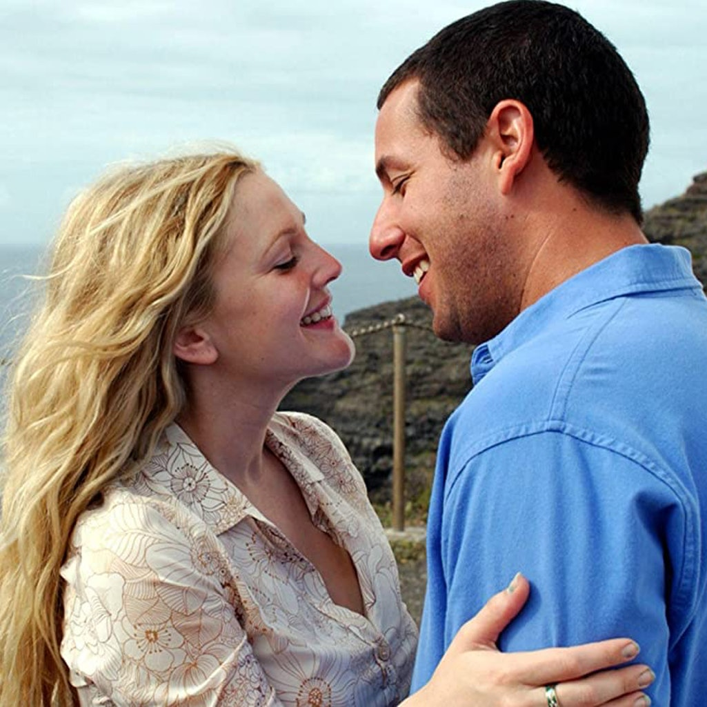 Adam Sandler and Drew Barrymore in '50 First Dates.'