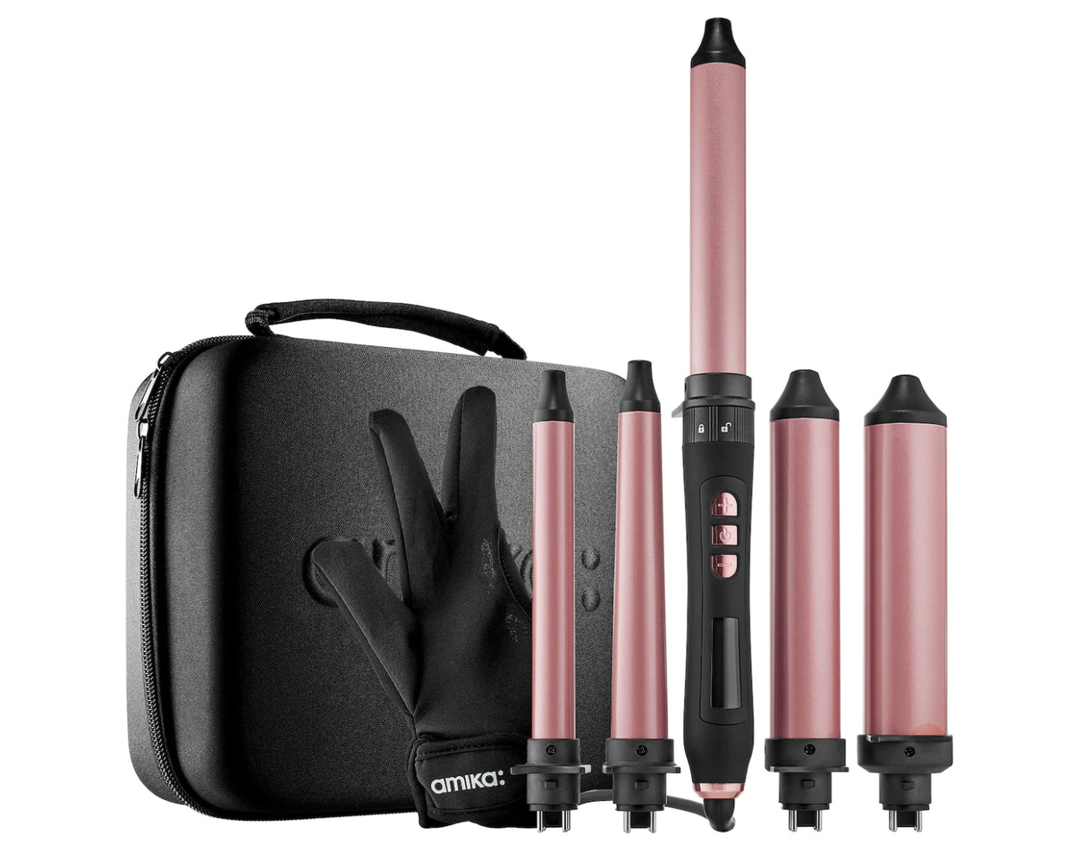 amika Jack of All Curls Hair Wand Curler Set
