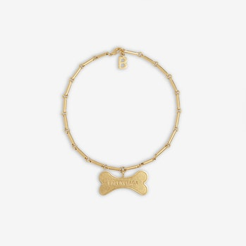 Balenciaga Pets Bone Necklace