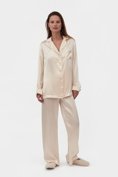 Love Me Tender Silk Pajama Set with Pants
