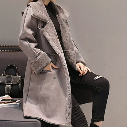 Shineflow Faux Fur Lined Coat