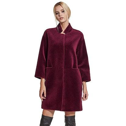 fur story Lamb Shearling Coat
