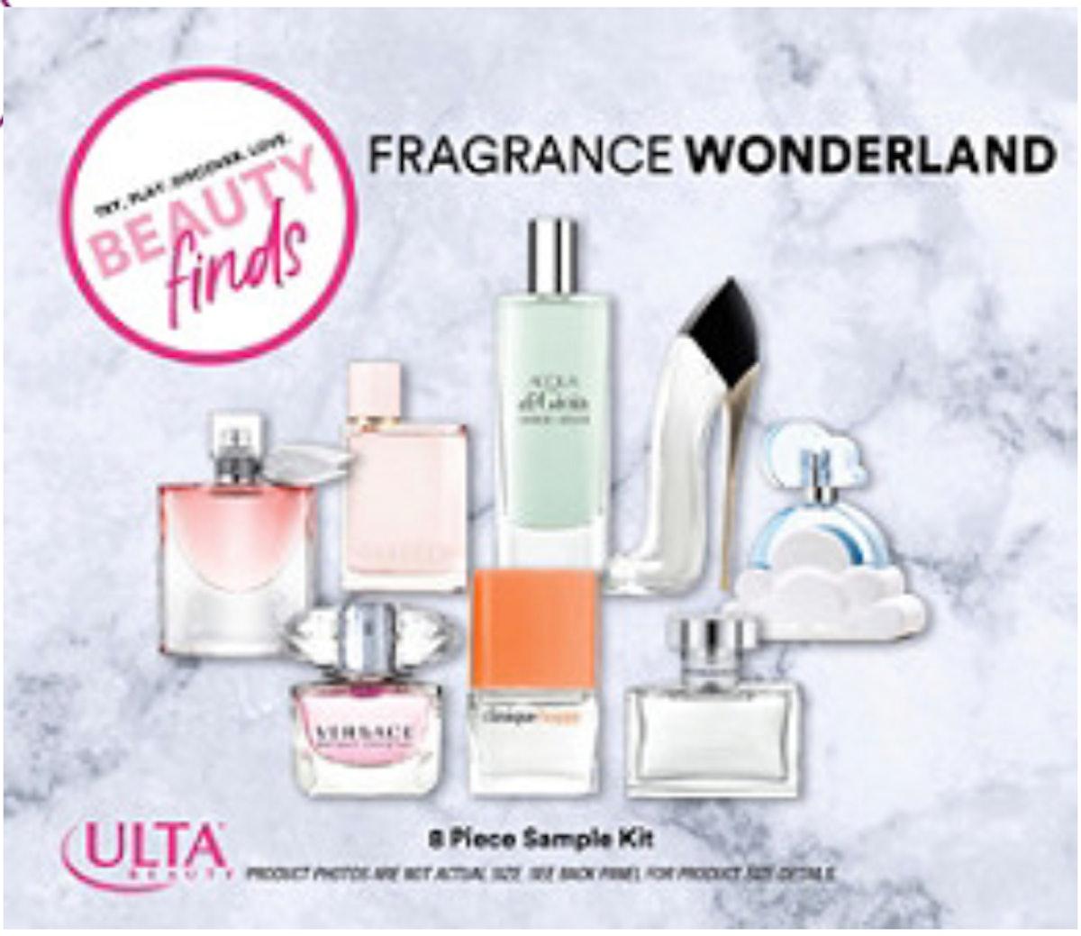 Beauty Finds by Ulta Beauty Fragrance Wonderland Sample Kit
