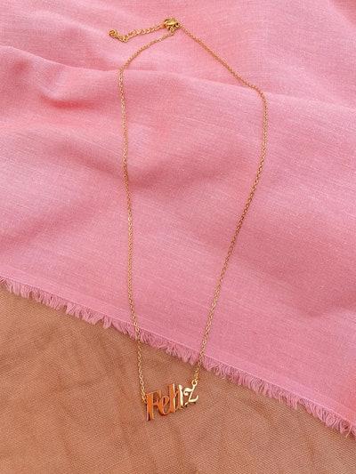 Feliz Necklace - Latina Power