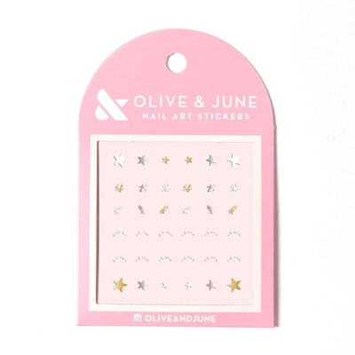 Lucky Stars Nail Stickers