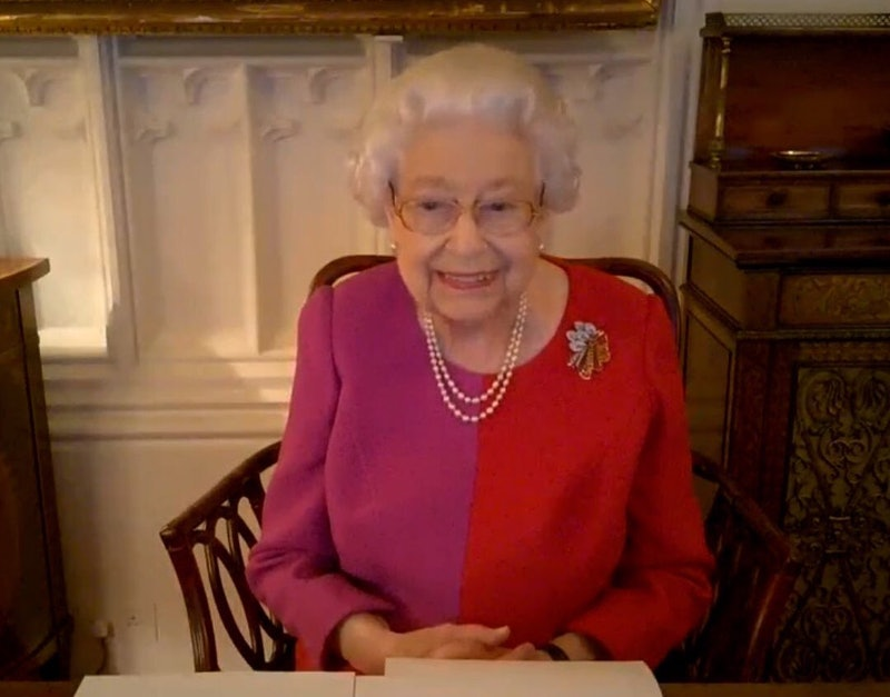The Queen's call with Points of Light award winners