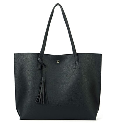 Nodykka Faux Leather Tote