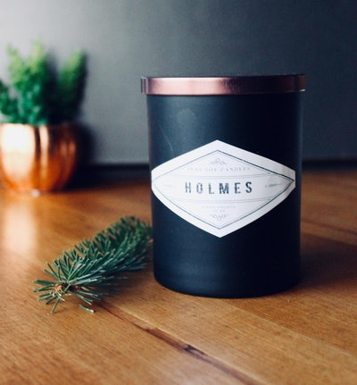 8 oz Soy Candle/Blue Spruce/Scented Candle