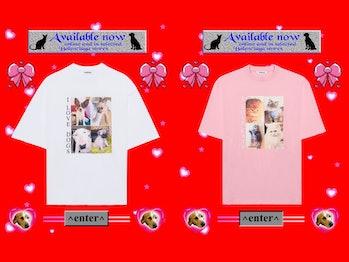 "Balenciaga ""I Love Pets"" T-shirts"