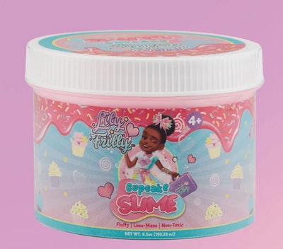 Lily Frilly Cupcake Slime