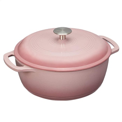 AmazonBasics Enameled Cast Iron Dutch Oven Pot