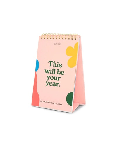 BEST YEAR EVER DESK CALENDAR - 2021