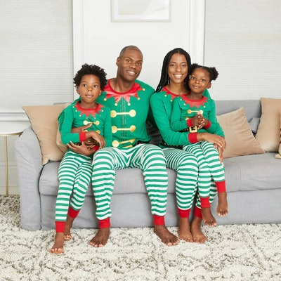 Holiday Elf Family Pajama Set
