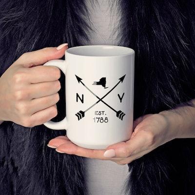 Custom New York Coffee Mug