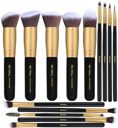 BS-MALL Synthetic Makeup Brushes (Set of 14)
