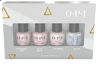 OPI Shine Bright Holiday Sheers 4 Piece Mini Pack