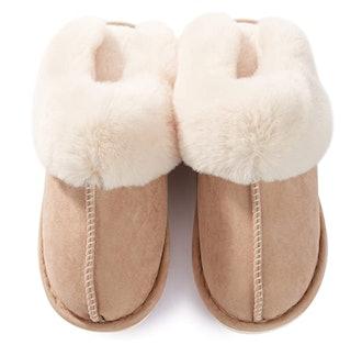 Donpapa Fluffy Memory Foam Slipper
