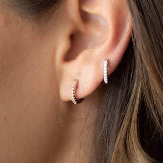 PAVOI Cubic Zirconia Earring Cuff