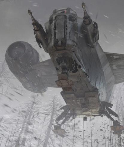 "Concept Art for 'The Mandalorian' Season 2 episode 5, ""The Jedi"""