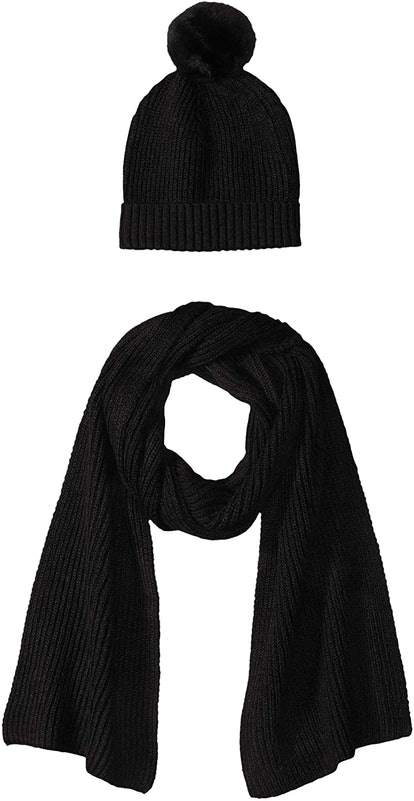 Amazon Essentials Women's Knit Hat And Scarf Set