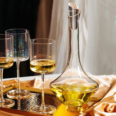 BTaT Wine Decanter with Stopper