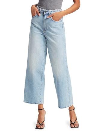 Flair High-Rise Wide-Leg Jeans