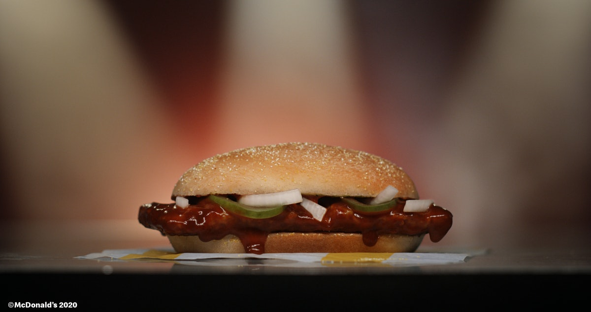 Here's how to get a free McRib in 2020