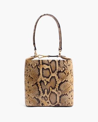 Lucie Bag Leather Print Snake
