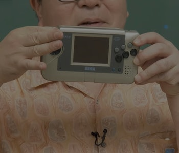 Sega revealed a prototype of its Genesis Nomad handheld from the 1990s.