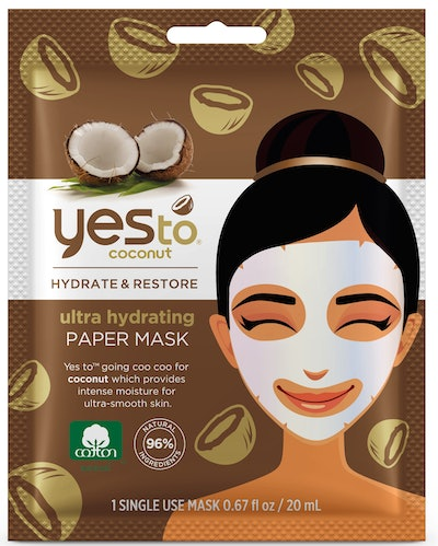 Yes To Coconut Ultra Hydrating Moisturizing Mud Mask, Single Use Face Mask